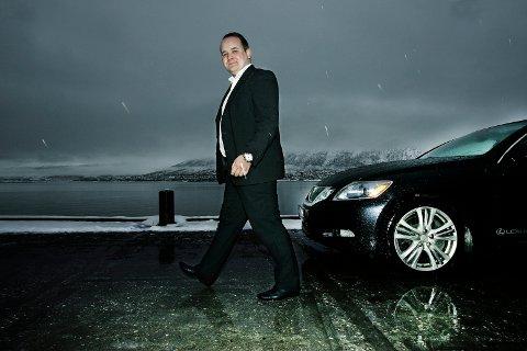 LEI: Bjørn-Gunnar Jørgensen (Frp), kommunestyrerepresentant i Tromsø, mener at Statens vegvesen motarbeider østre alternativ for E8 i Ramfjord. I forslaget til Nasjonal transportplan er veiprosjektet skjøvet ut med byggestart tidligst i 2022-23.