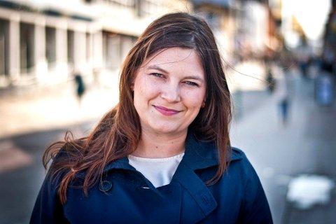 TAR KONTAKT: Fylkesrådsleder Cecilie Myrseth tar over påske kontakt med Nordland og Finnmark for samtaler om en mulig sammenslåing.