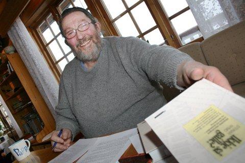 """Steinar Nymo har vært opptatt av språk siden han var """"en liten jævel""""."""