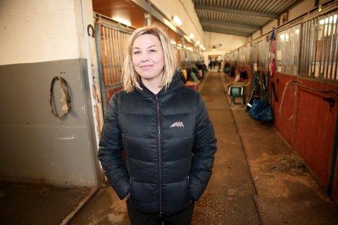 SLUTTER: Veronica Isaksen har sagt opp som daglig leder for Tromsø Ryttersportsklubb og Tromsø Rideklubb.