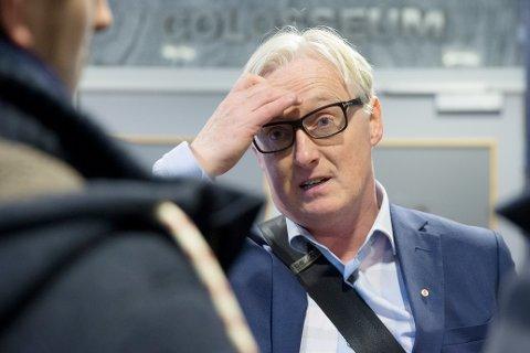 Bård Flovik mener at det er greit at supporterne er engasjert, men han bruker ikke energi på det. Foto: Håkon Mosvold Larsen / NTB scanpix