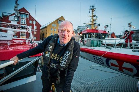 OPPGITT: Regionleder i Redningsselskapet Arild Braathen er skuffet over at regjeringa ikke vil prioritere ny redningsskøyte i nord. - Jeg er oppgitt, sier Braathen, som mener situasjonen er uforsvarlig.