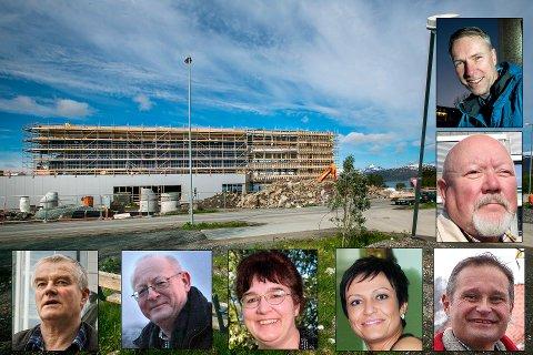 DISSE VAR MED Å STEMME OVER MONSTERBYGGET: Det er snart to år siden Kvaløyvegen 156 ble vedtatt i kommunestyret i Tromsø. Hva mente de da - og hva mener de i dag?