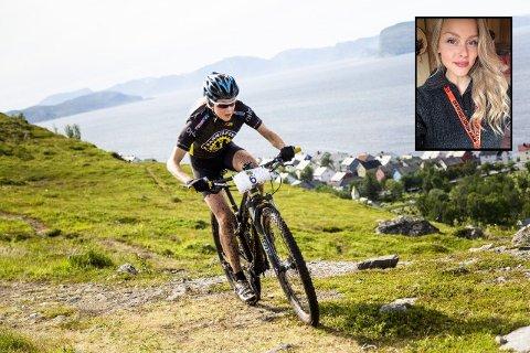 GODFØLELSEN: Tidligere i år deltok Rakel i Onroad Finnmark.  - Jeg føler det har gått bra meg meg. Det er ingen tvil. Fysisk aktivitet har store positive ringvirkninger.