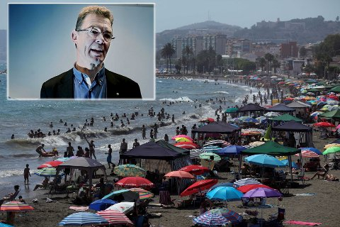 Direktør Terje Martinussen i Norges Sjømatråd skal til Malaga for å lære spansk. Med seg på turen får han god lønn. Foto: Nordlys/Scnapix