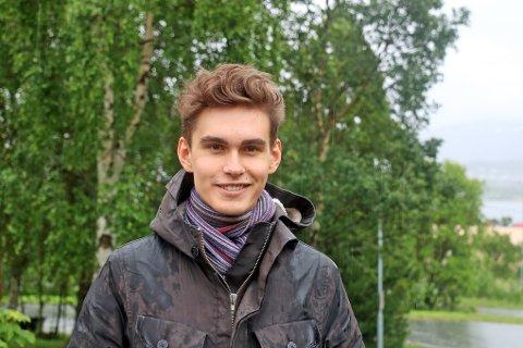 SATSER INTERNASJONALT: Sondre Milch Agledahl fra Tromsø og Hammerfest valgte etter han var ferdig på barneskolen Gyllenborg i Tromsø, å satse på internasjonal skolegang.