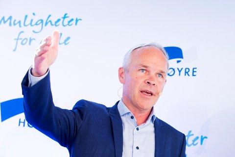 SAMMENSLÅING: Jan Tore Sanner (H), kommunal- og moderniseringsminister, er mannen bak regjeringens regionreform.