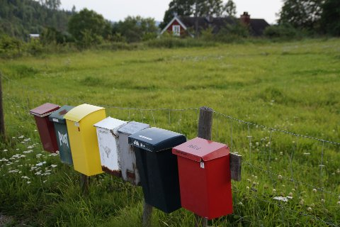 BLE SPRENGT: Ei postkasse ble sprengt i Taraldsvik natt til tirsdag. Illustrasjonsfoto.