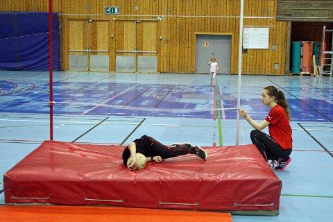 MORO: Ungene koste seg under dagens besøk til Tromsøhallen