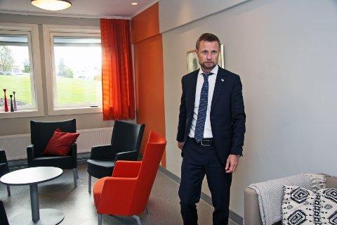 SER TIL STORBRITTANIA: Helseminister Bent Høie er fornøyd med de erfaringene Sørlandet sykehus har gjort med den britiske modellen for kartlegging og evaluering av selvmordsforsøk og selvmord.