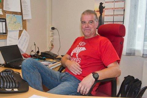 RÅDMANN: I to år har Terje Jacobsen fra Tromsø jobbet som rådmann i Båtsfjordk ommune. Nå har han søkt på rådmansstillingen i Saltdal. Foto: Inge Wahl