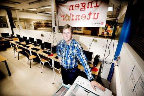 NY JOBB: Rektor ved Mortensnes skole, Jon Halvdan Lenning, er av fylkesrådet ansatt som mobbeombud i Troms. Arkivfoto: Torgrim Rath Olsen