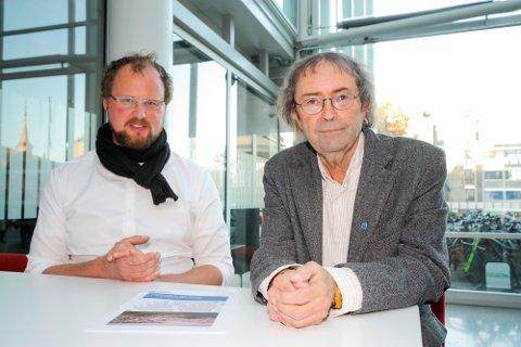 Enhetsleder Per Hareide ved planenheten i Tromsø kommune har sammen med by- og samferdselsplanlegger Carl Henrik Deiting,kartlagt potensielle nye deponi i byens omegn.