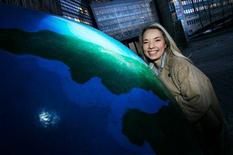 TIL KINA: Victoria Braathen (43) blir ny fiskeriutsending for Sjømatrådet i Kina.