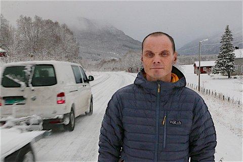 ÈN SMITTET: Barduordfører Toralf Heimdal bekrefter at en person er smitte av koronaviruset i kommunen.