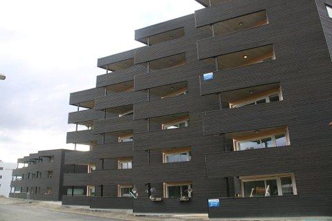 KRITISK RAPPORT: En fersk rapport er kritisk til brannsikkerheten på Vangberg i Tromsø.
