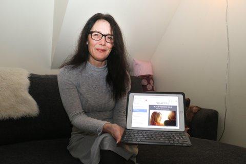 RENNER INN: Innboksen til Trude Iren Hagen-Holthe har kokt over med reklame for Black Friday - uten at hun har benyttet et eneste tilbud.