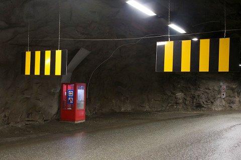 Kommunen har gjort flere mindre, men viktig jobber i denne Tromsø-tunnelen. Foto: Tromsø kommune