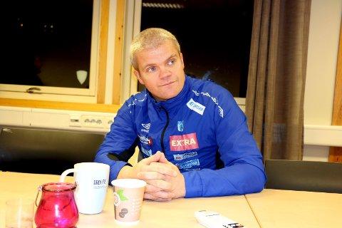 Gaute Ugelstad Helstrup er ferdig som trener i TUIL.