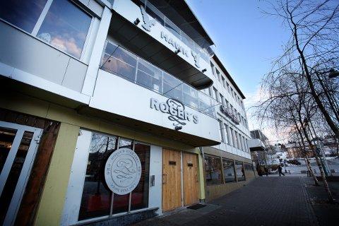 LEGGER NED: Utestedet Rogers i Tromsø legger ned. 27. januar er siste åpningsdag for det tradisjonsrike utestedet.