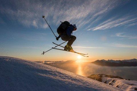 SPENNING: Bakkene med helning 20-30 grader er optimale for skientusiaster