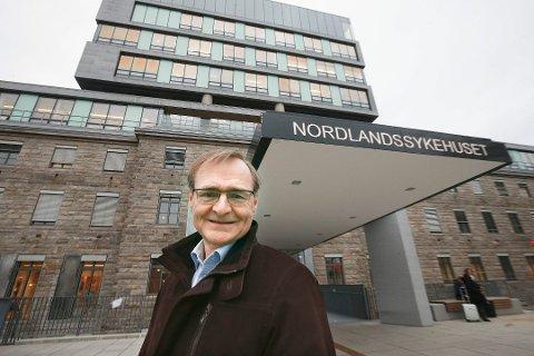 I PCI-STORM: Helse Nord-direktør Lars Vorland sier han er overrasket over den sterke motstanden fra fagmiljøet på UNN mot etablering av et PCI-tilbud i Bodø.