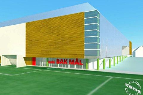 KAN LØSE SEG: Det har bokstavelig talt blitt en ny vending i saken om ny fotballhall på Bjerkaker i Tromsø. Nå skal løsningen likevel bli en hall som ligger fra øst mot vest. Saken skal snart opp i formannskapet.