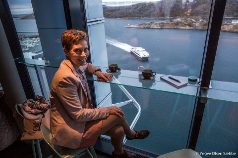 SE TIL BODØ: Troms og Tromsø må se til hvordan Bodø har lokket folk sørfra til å bosette seg i Bodø og Salten-regionen, sier NAV-direktør Grete Kristoffersen.