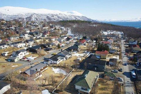 PILOT: Sorgenfri skal analyseres for å vise hvordan området kan fortettes. Svarene kan bidra til nye visuelle krav til nybygg også andre steder i Tromsø.