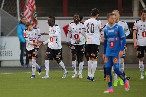 Odd var det første laget som slo TIL i årets eliteserie. Foto: Trond Reidar Teigen / NTB scanpix