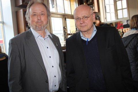 Klassekampens journalist i Tromsø, Ole Magnus Rapp, og redaktør Bjørgulv Braanen forteller at de første to månedene med kontor i Tromsø har vært vellykket.