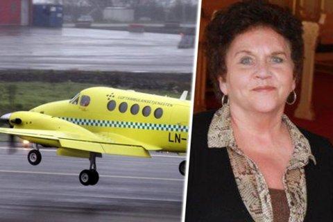 BEHOV FOR JETFLY: - Et ambulansejetfly som kan betjene Svalbard-samfunnet må komme på plass så raskt som mulig, mener Tove Karoline Knutsen, stortingsrepresentant for Troms Arbeiderparti.