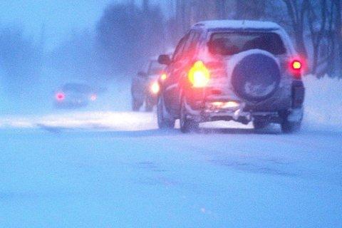 Det kan bli vanskelige kjøreforhold i nord.