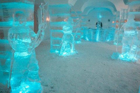 I ALTA: Ishotell finnes allerede i Alta (bildet) og Kirkenes. I desember åpner konseptet også i Troms.