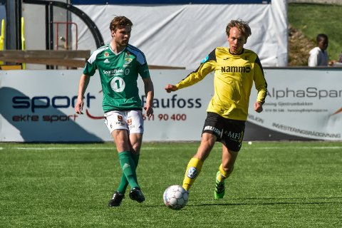AVGJORDE KAMPEN: Sander Birkeland satte inn Finnsnes tredje scoring.