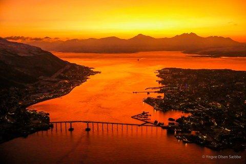 POPULÆR: Tromsø er en populær by å besøke, og det er én destinasjon som skiller seg ut i mengden. På Instagram har Polaria tatt opp kampen blant de mest avbilda attraksjonene i landet.