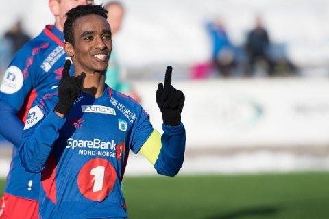 JAKTER SEIER: Mohammed Ahamed og TUIL får besøk av Florø.