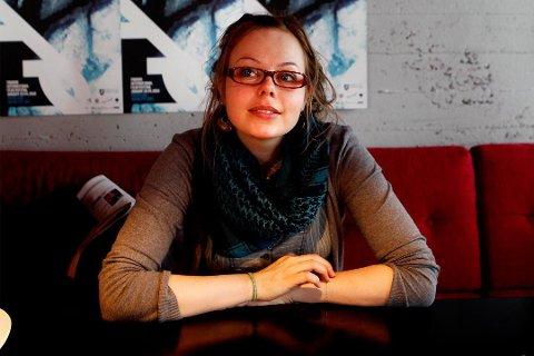 VINNER: Sigrid Strøm Reibo tok med seg to priser fra Heddapris-utdelingen.
