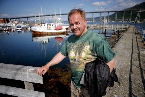 VIL STANSE MOLO: Kurt Oddekalv i Miljøvernforbundet mener en spunset vegg er beste alternativ på bakgrunn av miljøhensyn.