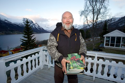 Arild Karlsen har ført dagbok over været siden tidlig på 1980-tallet.