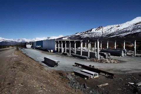 BRANN: Det har vært brann i fabrikken til Element Nor i Balsfjord. Bildet er tatt ved en tidligere anledning.