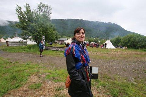 Festivalsjef Karoline Tveitnes Trollvik er fornøyd med at årets besøkstall overskrider det de hadde budsjettert for.
