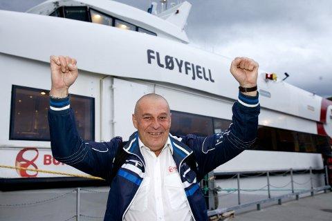 NAVNETOPPEN: Om bord i hurtigbåten ble Terje Einar Erntsen Lotto-millionær. Han deler fornavn med mange andre som også har sju rette i Lotto!