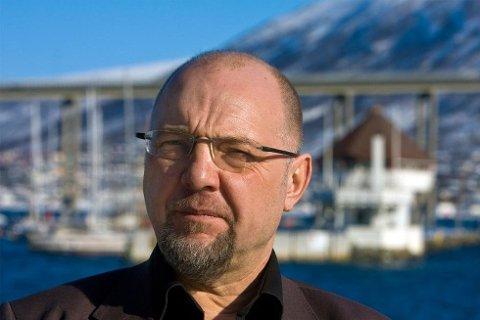 DYKTIG PARTILEDER: - Jonas Gahr Støre har ikke gjort noe galt, det er vi som parti som har sviktet, mener ordfører Rune Rafaelsen (A) i Sør-Varanger. Foto: Jan-Morten Bjørnbakk, NTB scanpix