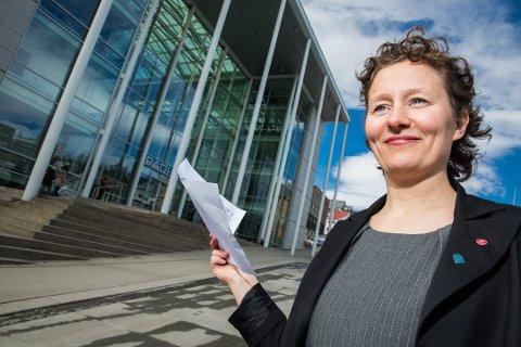 JUSTERES NED: Ap, Rødt og SV er enige om å justere ned eiendomsskatten i Tromsø, opplyser ordfører Kristin Røymo (Ap) i en pressemelding onsdag.