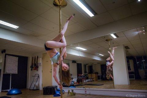 DRØM: Daniella Meleni kommer fra Kiev i Ukraina. Hun har drømt om å begynne med poledance siden hun var 12.