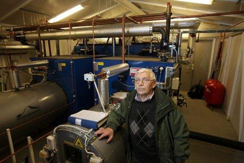 KAN FÅ NYTT LIV: Styreleder i Nord-Troms bioenergi, Torstein Nygård, måtte sommeren 2016 se at selskapet gikk konkurs. Nå kan anlegget bli vekket til live.