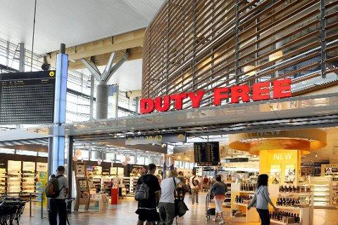 Taxfree-handelen får skylden for at salget svikter hos Polet. Foto: Oslo Lufthavn/ANB