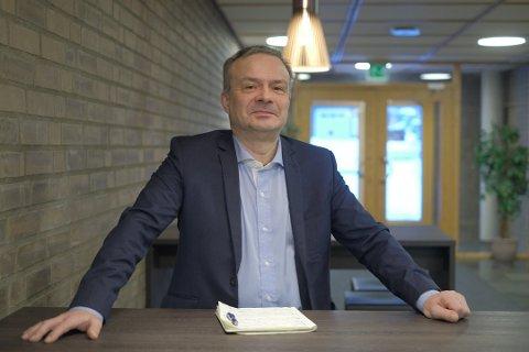 SYKMELDT: Fylkesrådsleder i Troms, Willy Ørnebakk. Arkivfoto.