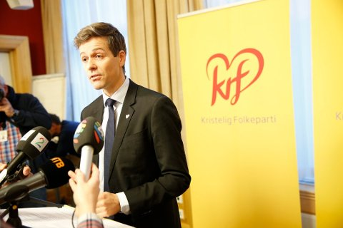 Knut Arild Hareide i Krf. Foto: Scanpix